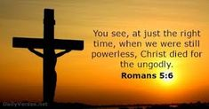 Romans 5:1 - Therefore, having been justified by faith, we have peace with God through our Lord Jesus Christ, Popular Bible Verses, Bible Verses Kjv, Bible Quotes, Biblical Quotes, Religious Quotes, Images Bible, Justified By Faith, Prayer Warrior, Verse Of The Day