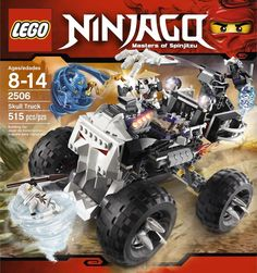 Lego Ninjago 2506 Skull Truck Brand New in Sealed Box