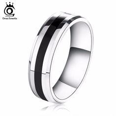 새로운 도착 titanium 스틸 커플 반지 패션 디자인 링 인기있는 보석 무료 배송 otr03