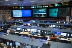 Johnson Space Center's Mission Control Center