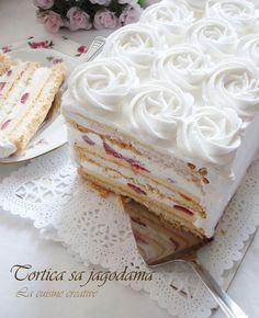 Recept za ovu torticu mozete procitati u najnovijem broju casopisa Mezze koji uredjuju nase blogerice Marija  i Ana  , atuje jos i...