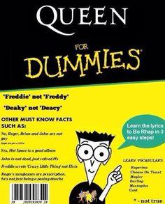 Queen for Dummies. #Queen