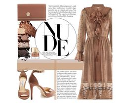 """""""Go Nude"""" by lovesickwildbeast ❤ liked on Polyvore featuring Jimmy Choo, Smith & Cult, Zimmermann, Anja, nude, polyvoreeditorial and polyvorestyle"""