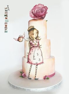 """""""Time goes by"""" Cake by Puckycakes"""