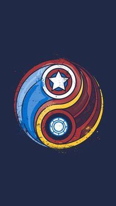 In-the Marvel: Iron Man vs. Captain America In-the Marvel: Iron Man vs. Marvel Avengers, Ultron Marvel, Thanos Marvel, Comics Spiderman, Iron Man Avengers, Marvel Fan, Marvel Memes, Marvel Logo, Dc Comics
