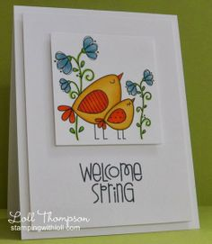 Stamping with Loll: Welcome Spring; free digi - I have it!