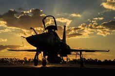 Sunset F-5EM na Operação Sabre