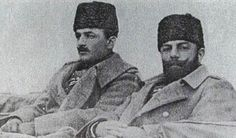 Ismail Enver and Ahmed Djemal