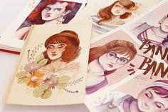 juliana rabelo | illustration: Paleta de cores reduzida