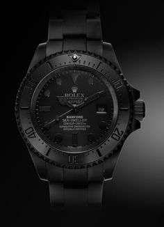DEEPSEA 'PREDATOR' Bamford Watch Department unleashes two new special edition Deepseas. - wrist watches for sale, mens cool watches, branded watches for men online shopping *ad Dream Watches, Cool Watches, Rolex Watches, Wrist Watches, Gold Man, Rolex Diamond Watch, Diamond Watches, Swatch, Black Rolex