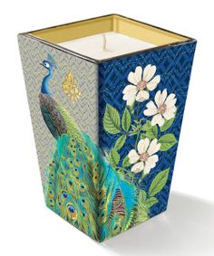 Madison Arcadia Peacock Candle