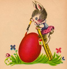 A Surprise for Mrs. Bunny by Charlotte Steiner (edition from the 1950s).