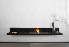 A Loungfire ethanol fireplace by Conmoto is a synergy of aesthetics, burner and functional furniture. Due to its very sophisticated shapes the ethanol fireplace Bioethanol Fireplace, Fireplaces, Bio Ethanol, Minimal Living, Shops, Galvanized Steel, Architecture, Interior Decorating, Images