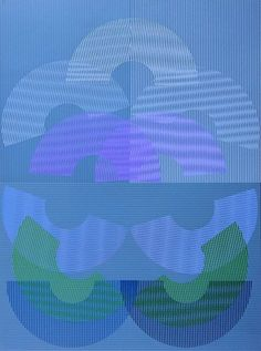 Transparencia en el tiempo, 1977 - Serigrafía