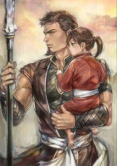 Jiguro and Balsa ~ Serei no Moribito  My heart <3