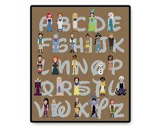 Fairy Tale Alphabet  Cross Stitch PDF Pattern by HugSandwich