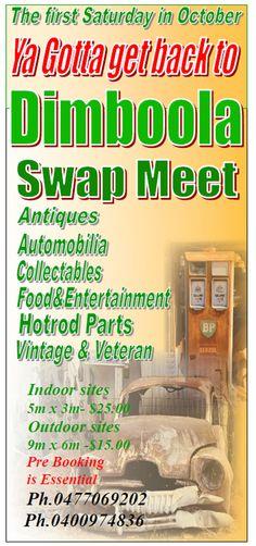 Dimboola Swap Meet and Show N Shine