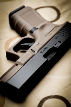 Glock 19. If you own multiple Glocks, you should have one that's a two tone. But that's just my opinion.