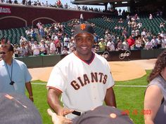 2003 Giants Photo Day - the closest I'll ever get to Mr. Barry Bonds