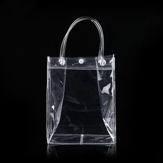 PVC plastic gift bags with handles plastic wine packaging bags clear handbag party favors bag Fashion PP Bags With Button Plastic Gift Bags, Clear Handbags, Wine Packaging, Party Favor Bags, Mobiles, Cool Stuff, Stuff To Buy, Computers