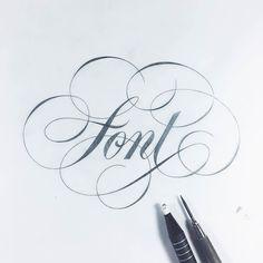 Fantastic font flourish. Type by @christophercraig_ | #typegang - typegang.com | typegang.com #typegang #typography