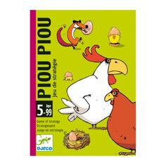 Jeu de cartes Piou-Piou Djeco pour enfant de 5 ans à 10 ans - Oxybul éveil et jeux