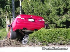 BMW M-Series M3 E46 crashed in Newport Beach, California