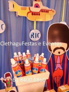 Clethagu Eventos: Uma Viagem ao Yellow Submarine para festejar 1 aninho de Ricardinho!!