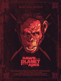 DAWN OF THE PLANET OF THE APES: KOBA on Behance