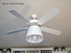 My So-Called DIY Blog: Refab a Ceiling Fan