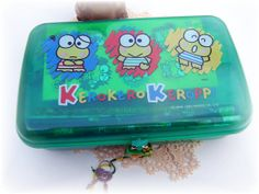 Sanrio Keroppi Treasure or Jewelry Box with by TheSandlapperShop, $35.00
