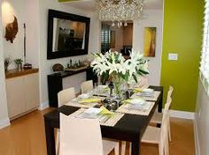 decoração de salas de jantar e estar conjugadas - Pesquisa Google