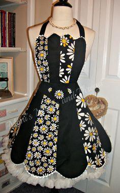 Crazy Daisy retro hand pieced handmade fully lined by mimisneedle