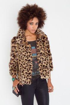 Edie Faux Fur Coat - NASTY GAL - StyleSays