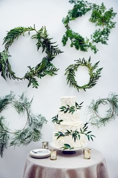 Ideas, Planning & Inspiration Step-by-step guide showing how to make organic fern arrangements for natural touch at your reception (.uk)Step-by-step guide showing how to make organic fern arrangements for natural touch at your reception (. Fern Wedding, Garden Wedding, Floral Wedding, Wedding Flowers, Botanical Wedding Theme, Wedding Top Table, Wedding Rustic, Wedding Bouquet, Second Wedding Dresses