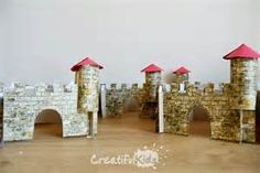 small cardboard or box castles kids can make - Yahoo Image Search Results
