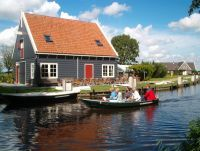 Boatrental for boat trips by Electroboat or Canoe     Enjoy Waterland  Broek in Waterland is one of the most beautiful well kept secrets Holland has to offer to visitors that want more than the usual.  Just outside Amsterdam on the road to Edam and Marken, only 10 minutes by public bus from Amsterdam Central Station, Broek in Waterland is to be discovered because of the beautiful wooden houses originating from 17th Century.
