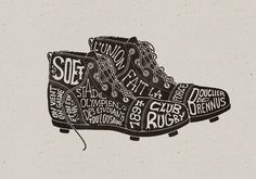 Creative Illustration, Toulouse, Soet, Section, and Rugby image ideas & inspiration on Designspiration Typography Tumblr, Creative Typography, Graphic Design Typography, Typography Wallpaper, Graphic Wall, Typo Design, Typography Poster, Logos Vintage, Vintage Typography
