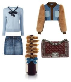 """""""Untitled #120"""" by wallan on Polyvore featuring Frame Denim, Marc Jacobs, Sonia Rykiel and Chanel"""