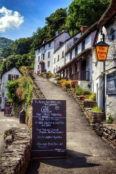 Mystifying Lynmouth in Devon, England by Jenny Parry