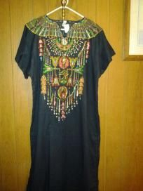 100%. Egyptian cotton jlbab or dress with beautiful drawing color  4 any time out size 2x