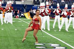 The+band's+performance+of+Uptown+Funk+will+feature+the+color+guard,+majorettes+and+feature+twirlers,+including+Savannah+Miller,+the+National+Baton+Twirling+Association+Collegiate+Twirling+Champion.