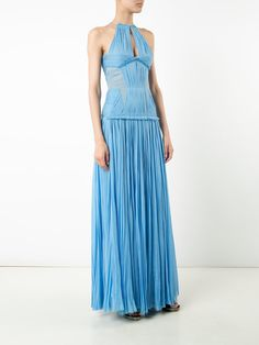 J. Mendel pleated gown
