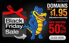 [Black Friday Deals] Hostgator Offering 50% Off On All Hosting Services