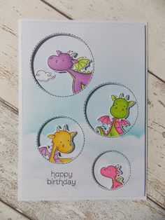 crafty lil mouse: MFT magical dragons...