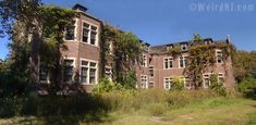 PENNHURST STATE SCHOLL & ASYLUM FOR CHILDREN, Spring City, PA. Ivy Covered Cottage.