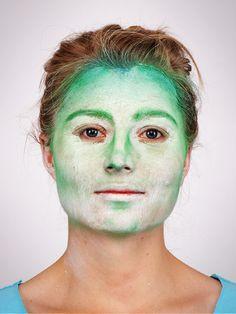 Hexe schminken für #Halloween: Step 3 Contouring (dadurch wirkt das Gesicht dreidimensionaler)