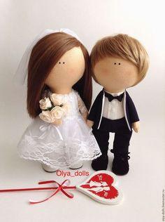 Wedding dolls / Куклы тыквоголовки ручной работы. Ярмарка Мастеров - ручная…
