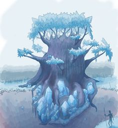 tree concept art - Google Search