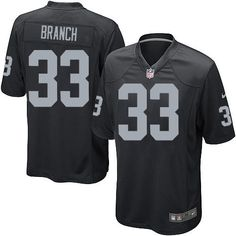 Youth Nike Oakland Raiders #33 Tyvon Branch Limited Black Team Color NFL Jersey Sale nike nfl jersey xxl